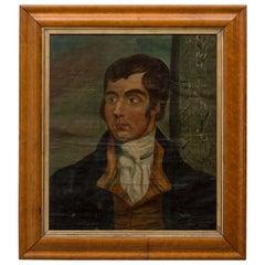 American Naïve Portrait of a Gentleman, circa 1830