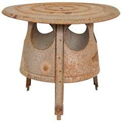 Tin Rustic Table