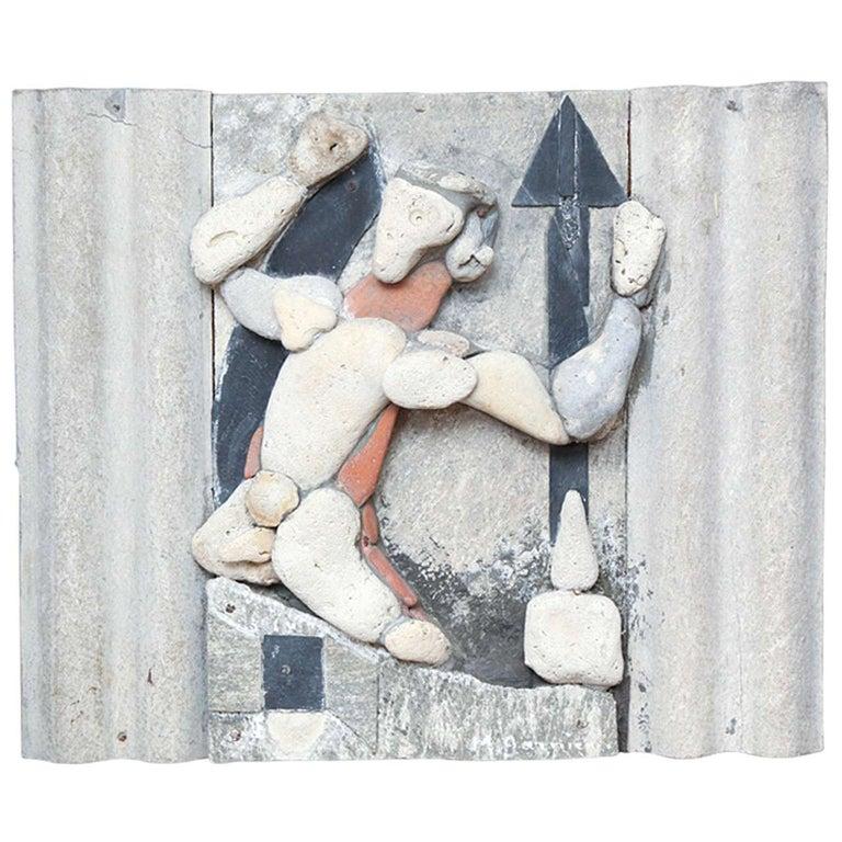 Maurice Garnier Wall Sculpture For Sale