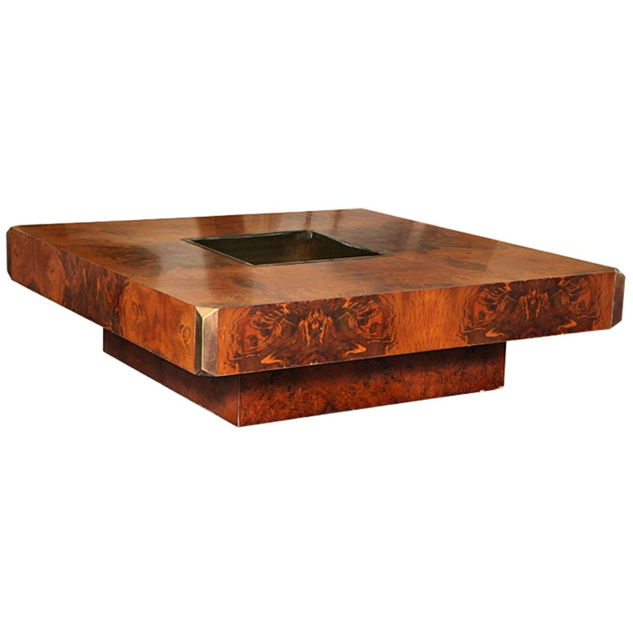 Willy rizzo coffee table at 1stdibs for Table willy rizzo
