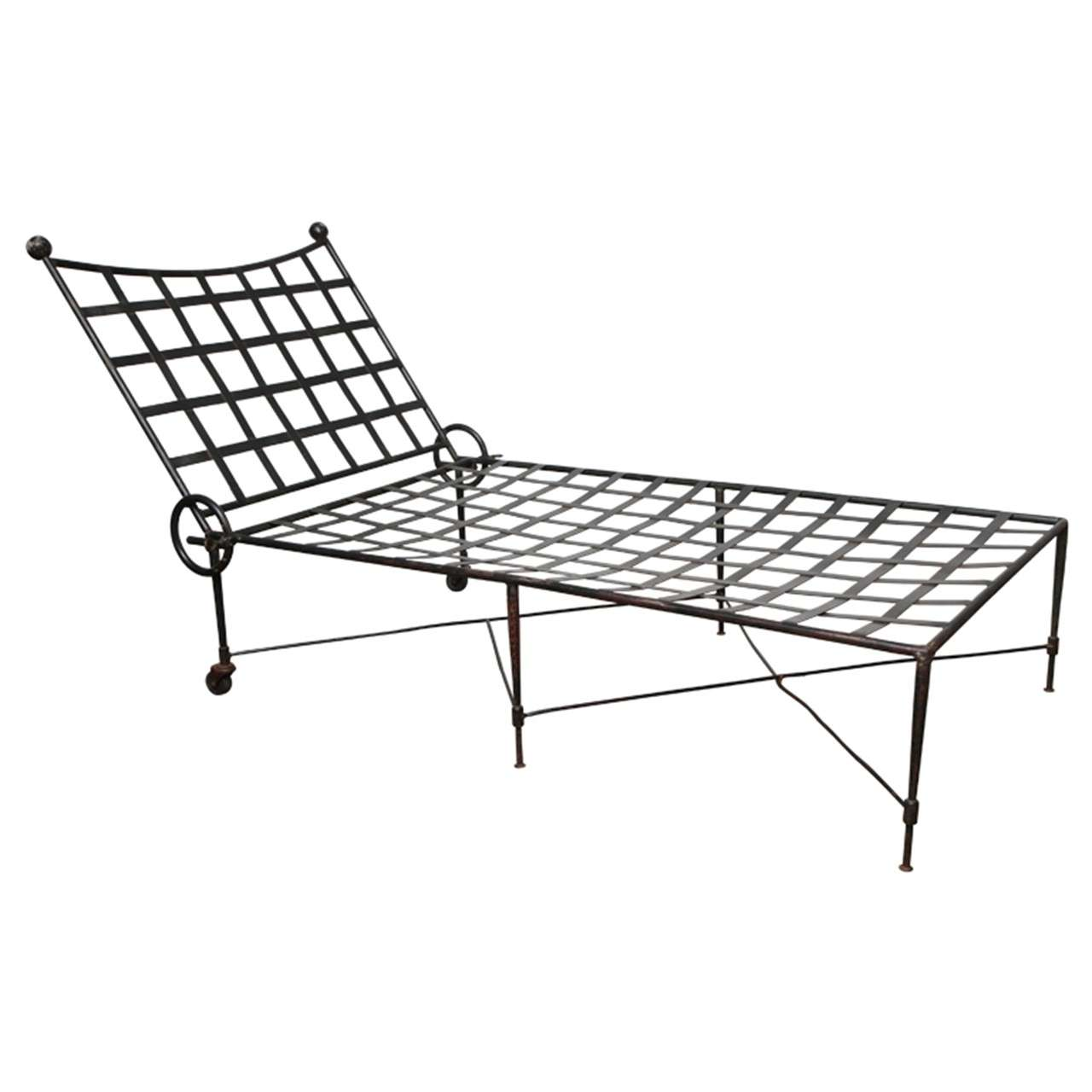 italian chaise longue at 1stdibs. Black Bedroom Furniture Sets. Home Design Ideas