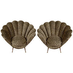 Pair of Chairs by René Prou