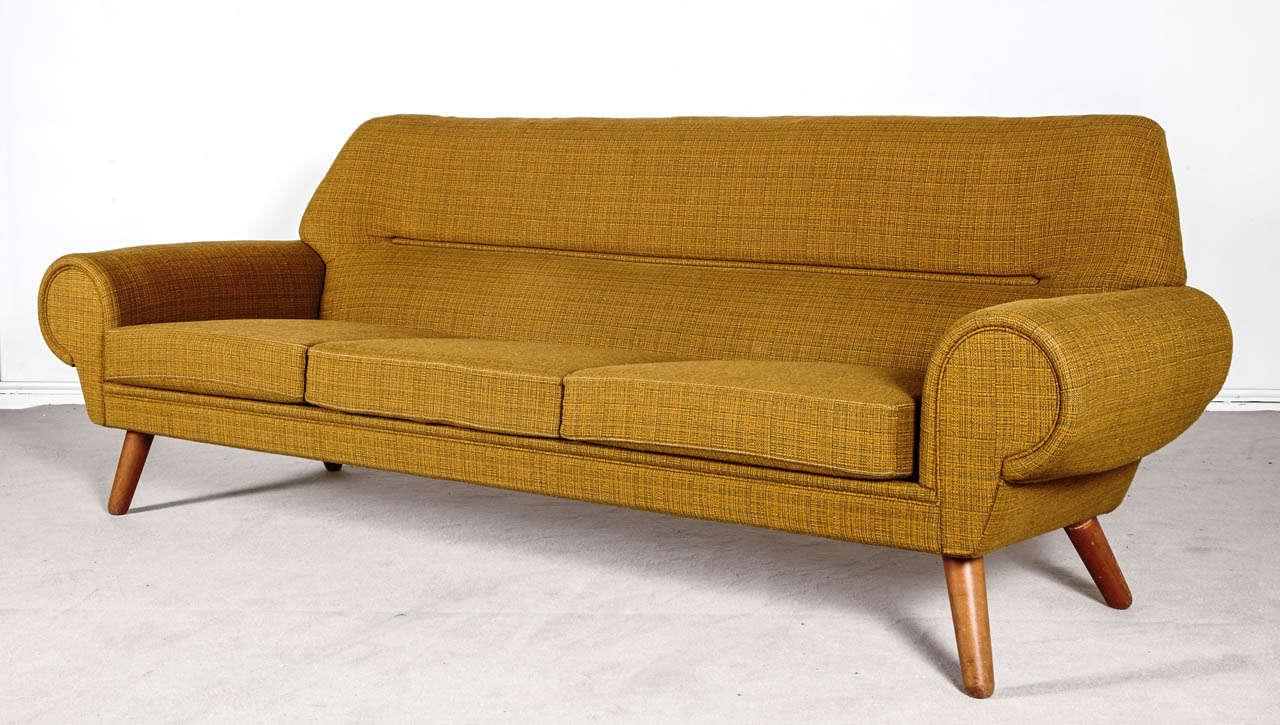 danish design model 14 sofa by kurt ostervig 1962 at 1stdibs. Black Bedroom Furniture Sets. Home Design Ideas