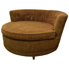 American Circular Oversized Chair