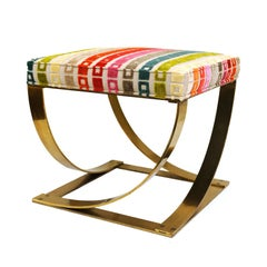 Solid Brass Stool From the 1970's