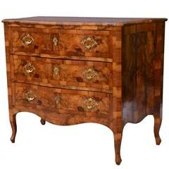Northern Italian Inlaid Commode