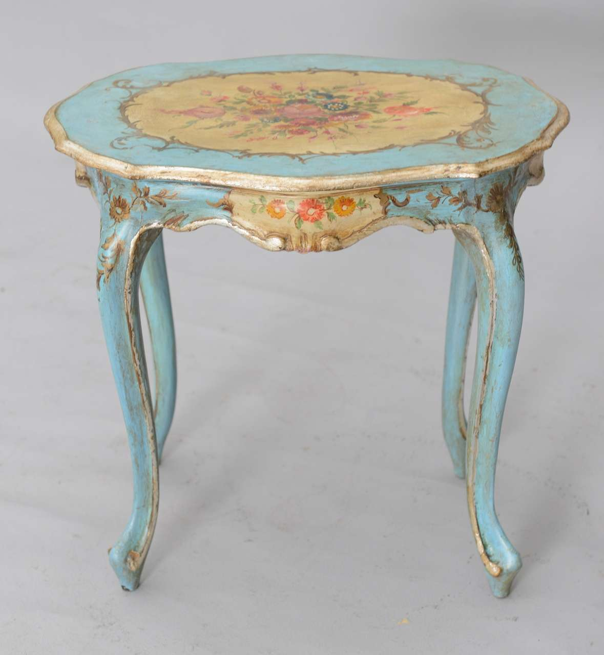 - Hand Painted Venetian Accent Table At 1stdibs
