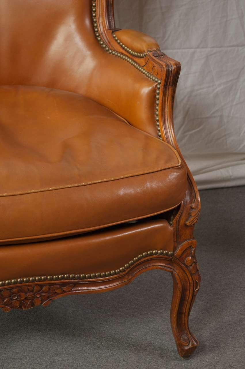 Louis 15th Style Bergere Chairs At 1stdibs