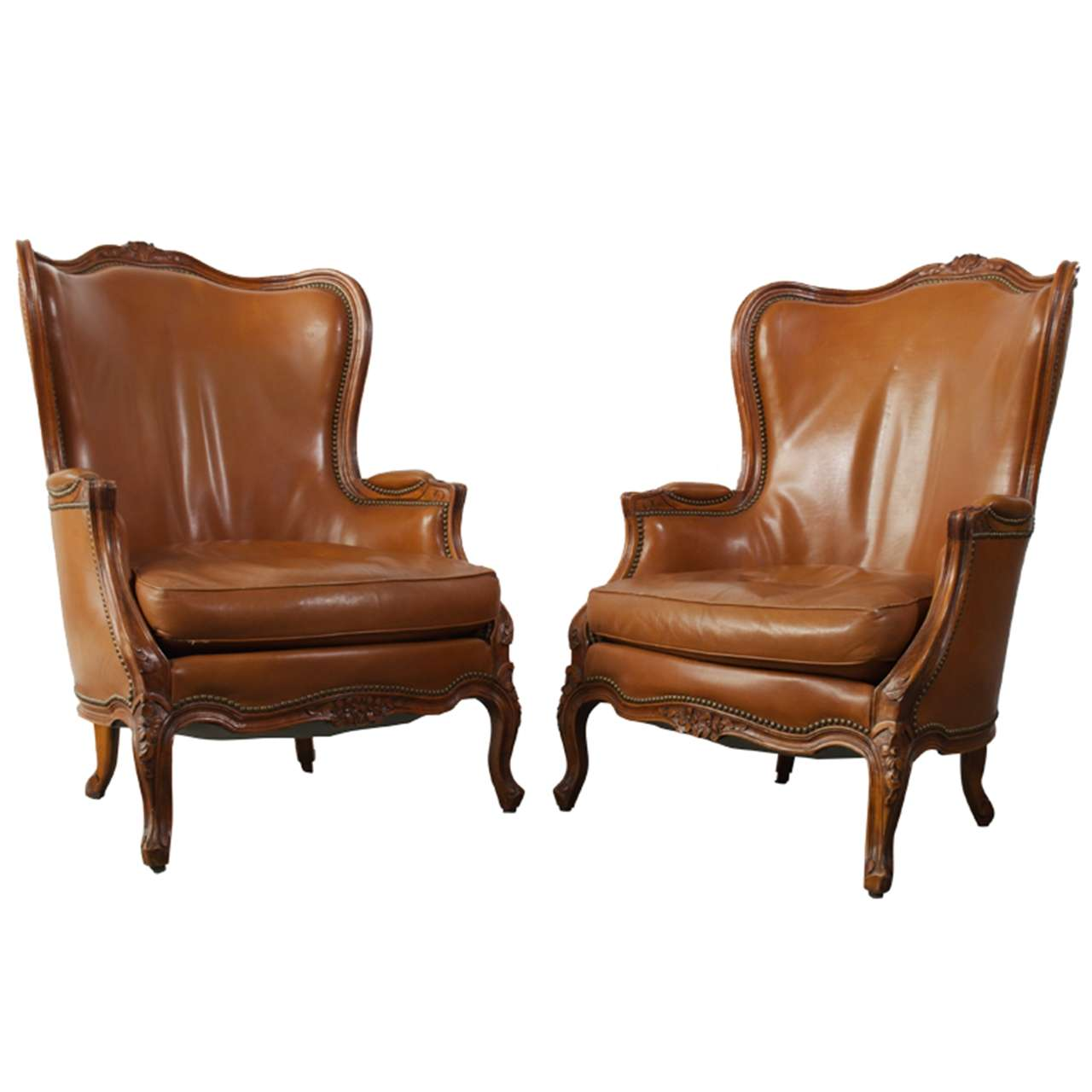 Louis 15th style bergere chairs at 1stdibs - Louis th chairs ...