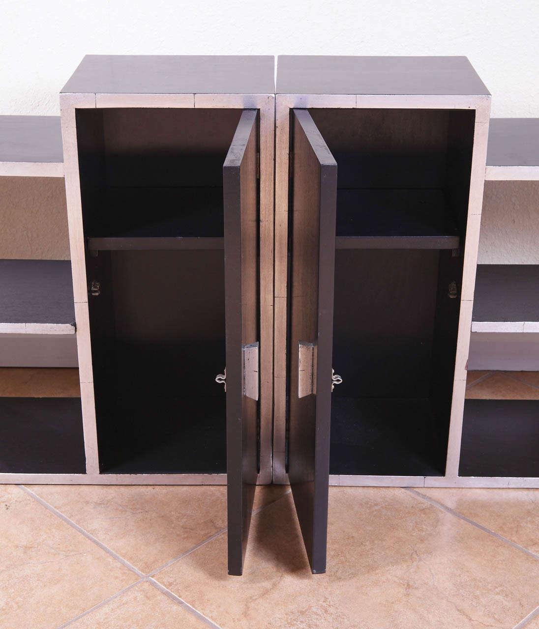 Machine Age Art Deco Paul Frankl / Frankl Galleries Signed Skyscraper Tables In Good Condition For Sale In Dallas, TX