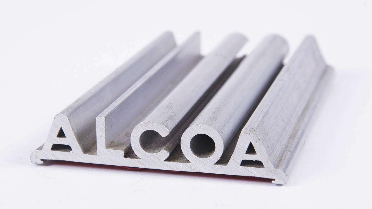 Machine Age Alcoa Advertising Desk Set Vitrolite