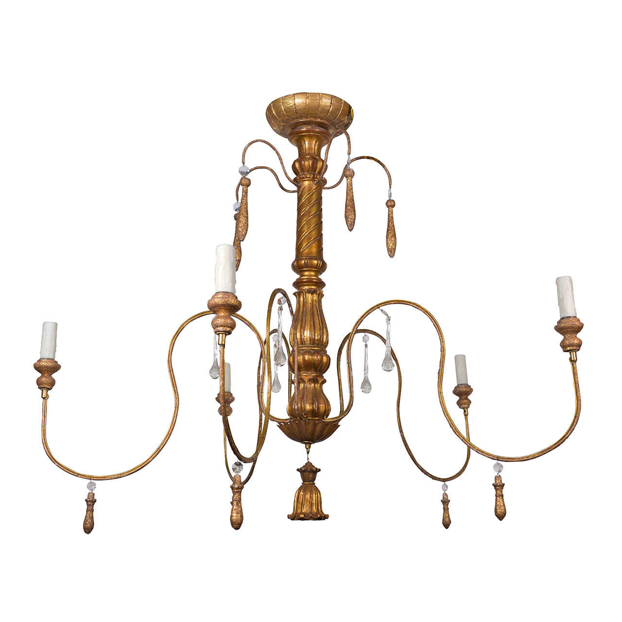 Chandelier Made From 18th Century Wooden Fragments At 1stdibs