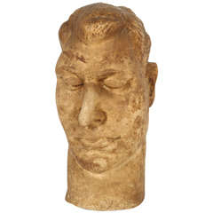 Vintage Bust of a Man