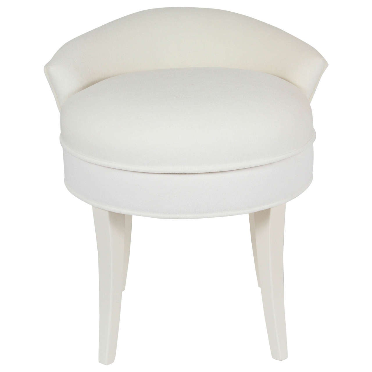 Vanity chair with back chairs seating - Black and white vanity stool ...