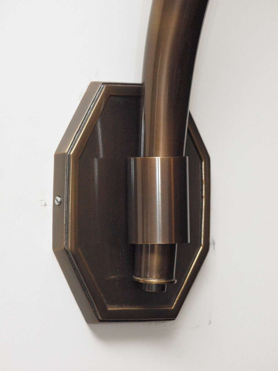 Very Large Wall Sconces : Very Large and Elegant Bronze Wall Sconces at 1stdibs