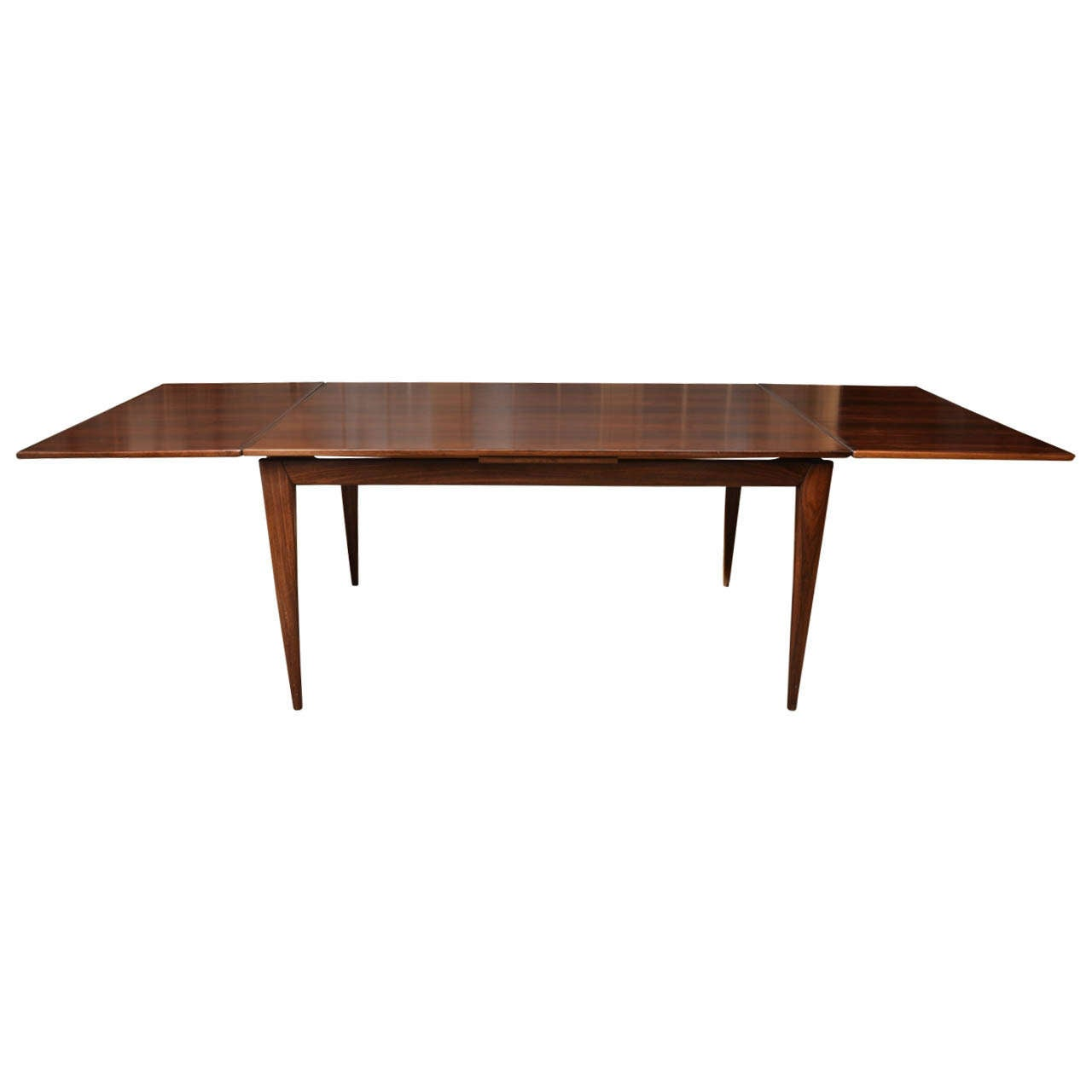 Mid century niels otto moller rosewood dining table model for Dining table models