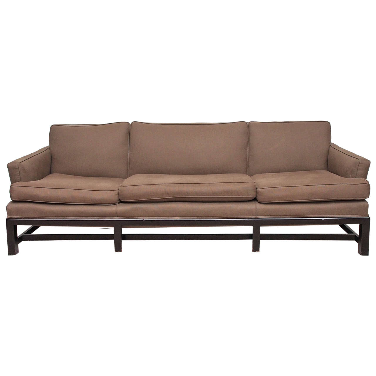 Saturday sale mid modern sofa with curved back at 1stdibs for I contemporary furniture