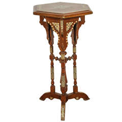 Moorish Hexagonal Side Table