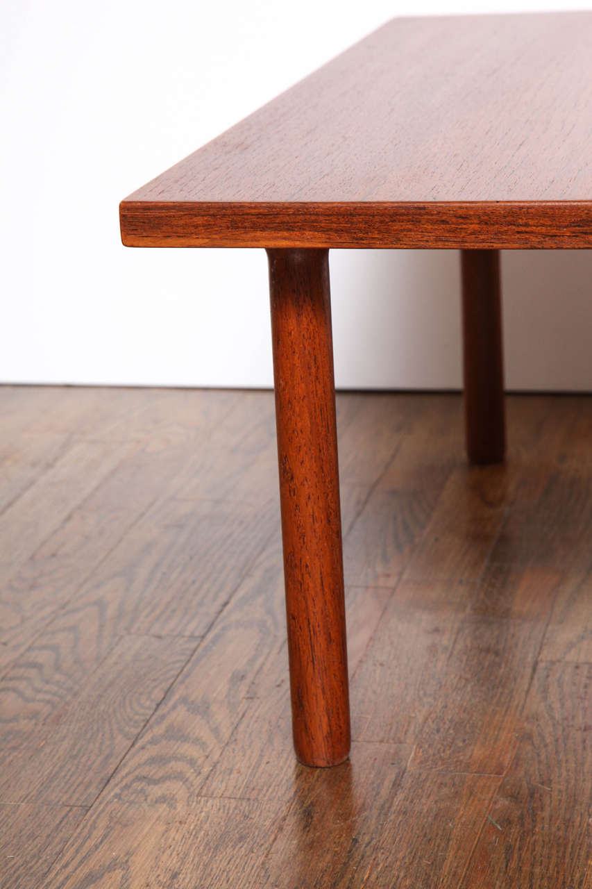 Modern Hans Wegner Teak Side or Coffee Table by GETAMA, 1960s For Sale