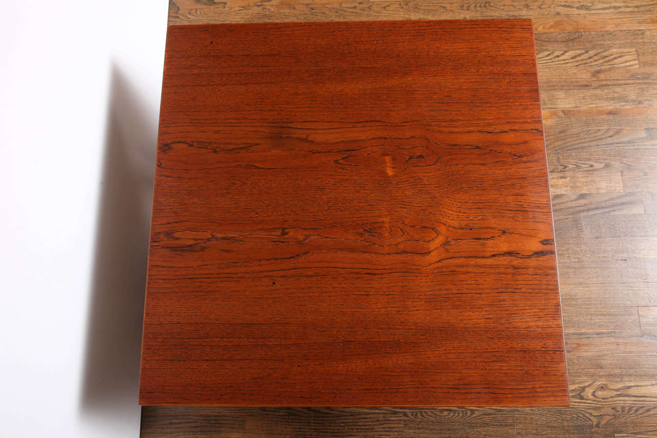 Danish Hans Wegner Teak Side or Coffee Table by GETAMA, 1960s For Sale