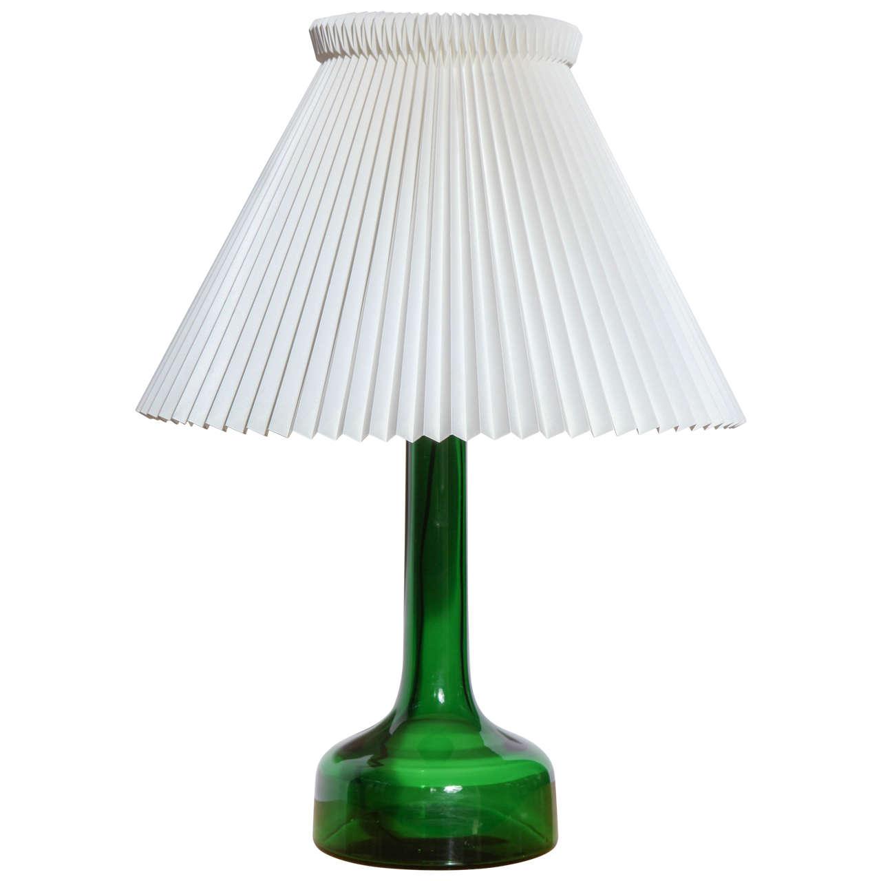 Vintage 343 Table Lamp by Gunnar Biilmann-Petersen, Mfg. Le Klint