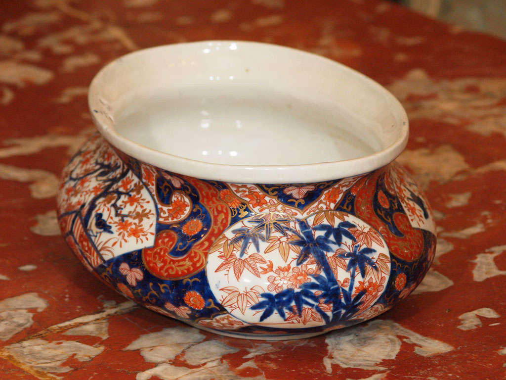 Oval imari centerpiece bowl at stdibs