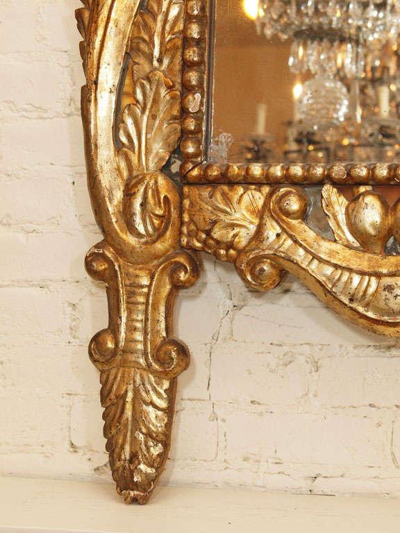 Itlain Louis XIV Gilt Mirror For Sale 1