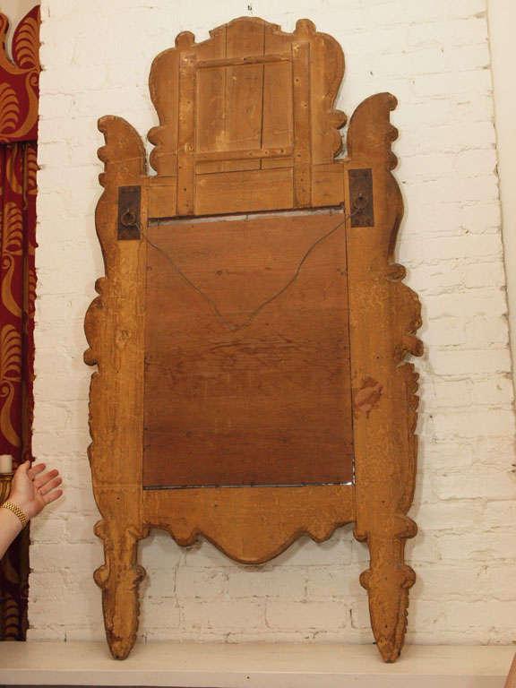 Itlain Louis XIV Gilt Mirror For Sale 4