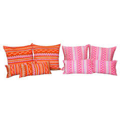 Burmese Pillows