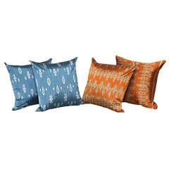 Burmese Silk Pillows
