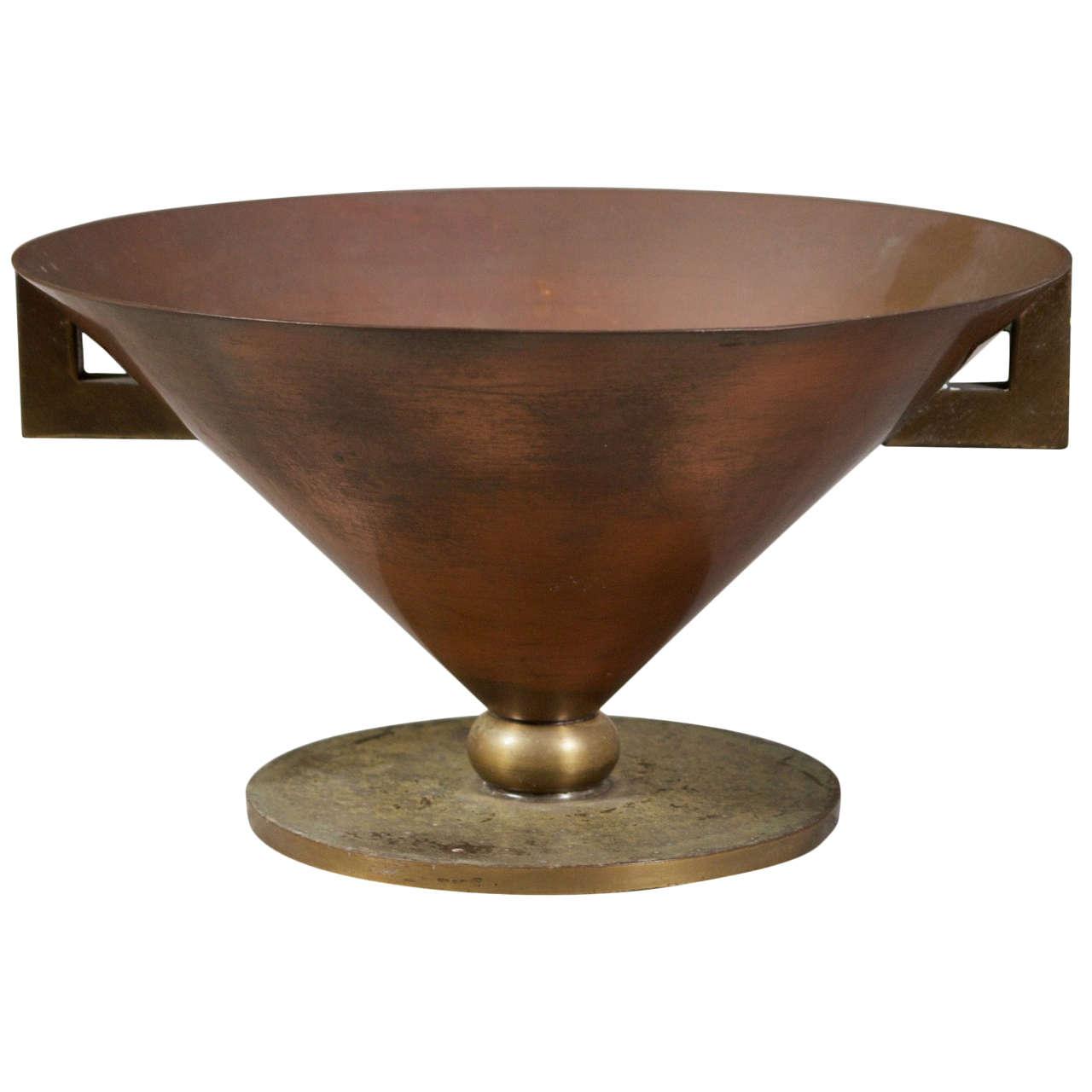 Roycroft Conical Vase at 1stdibs