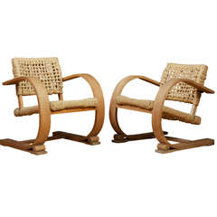 Audoux-Minet - Rope Chairs