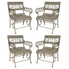 19th Century French Style Garden Chairs
