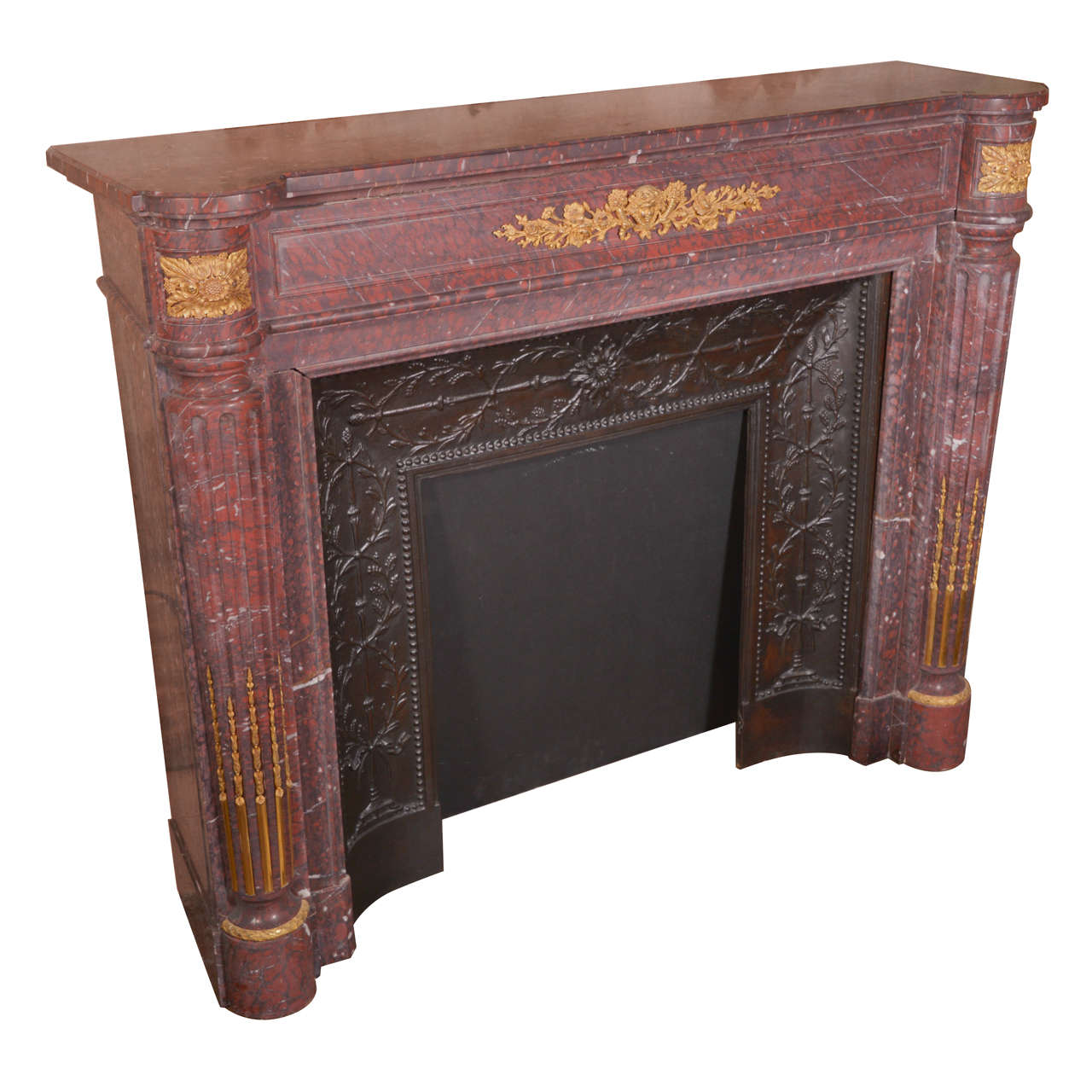 19th c, French Napoleon III Mantel