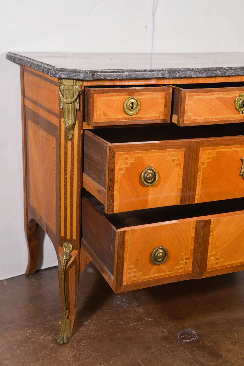 transitional louis xv xvi period commode for sale at 1stdibs. Black Bedroom Furniture Sets. Home Design Ideas