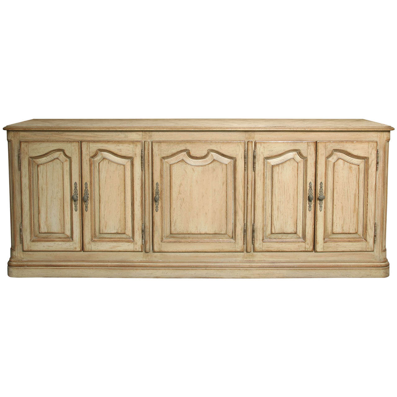 Cerused French Oak Kitchens And Cabinets: A French Provincial Cerused Oak Side Cabinet At 1stdibs
