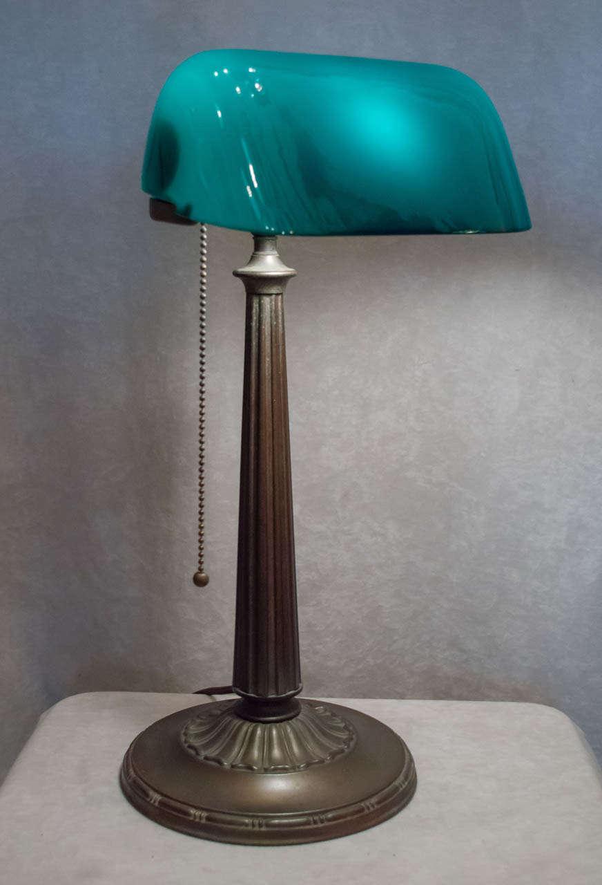 emeralite bankers lamp - Lamp Ideas