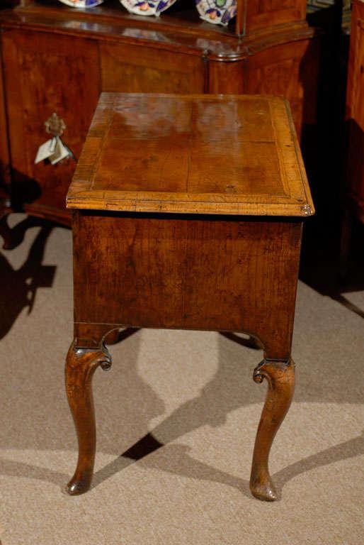 Fine Early 18th Century English George I Walnut Lowboy At