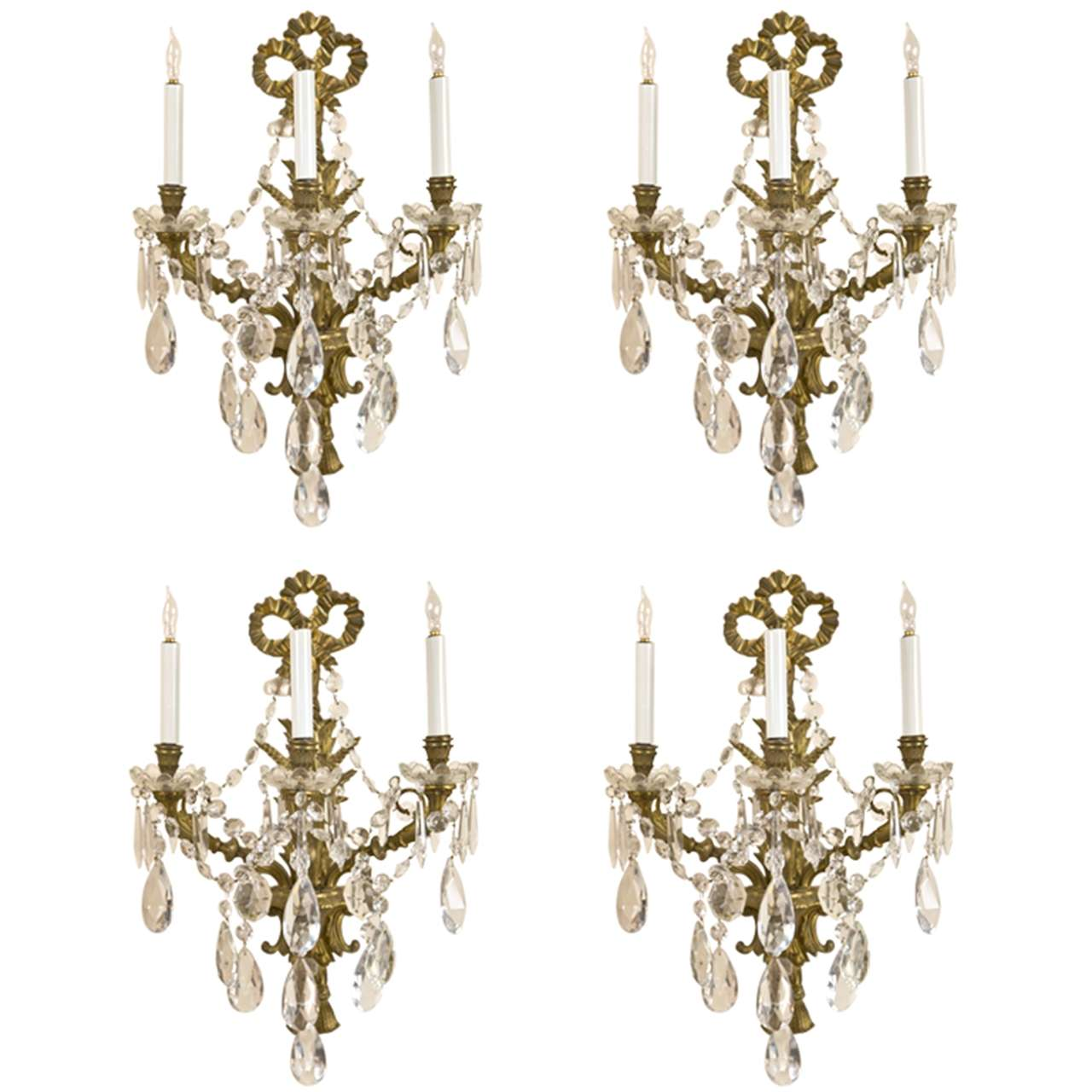 Wall Sconces With Crystal : Crystal Wall Sconces - Home Designs