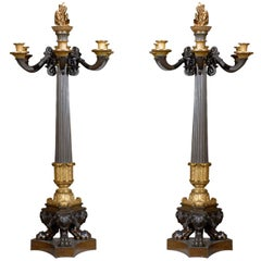 Antique Empire Style Candelabra