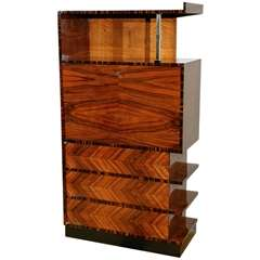 Hungarian Art Deco/Modernist Bookcase