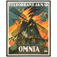 Original Lithograph of Hungarian Film Poster