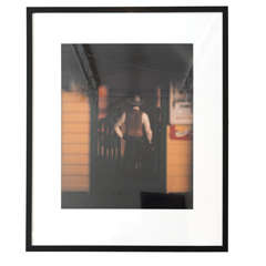 "David Levinthal  'Wild West Series"" Custom Framed  Poloroid Polocolor Photograph"