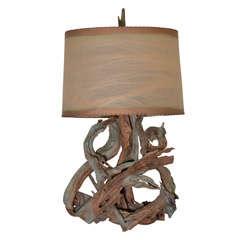 Large Dramatic Driftwood Lamp
