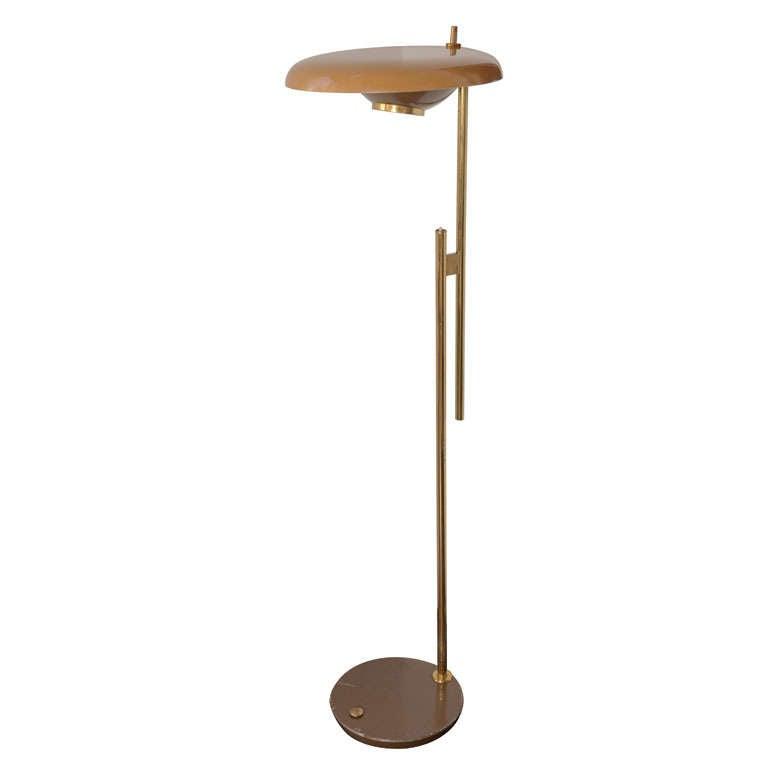 Italian Floor Lamp by Torlasco