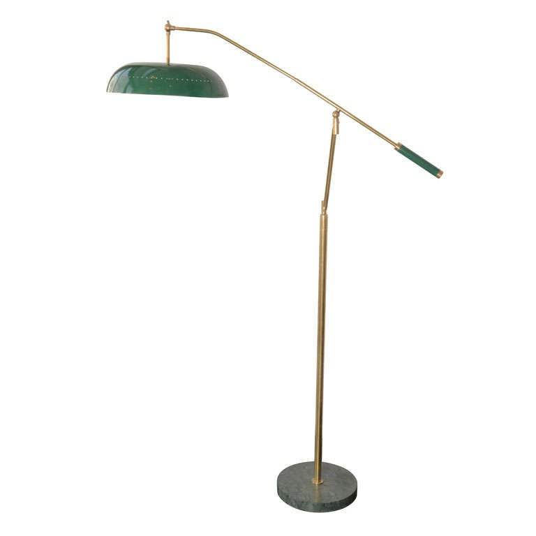 Italian Floor Lamp in the Style of Stilnovo