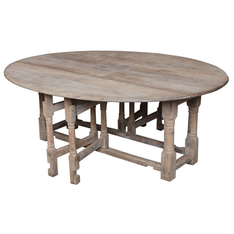 French gate leg table at 1stdibs