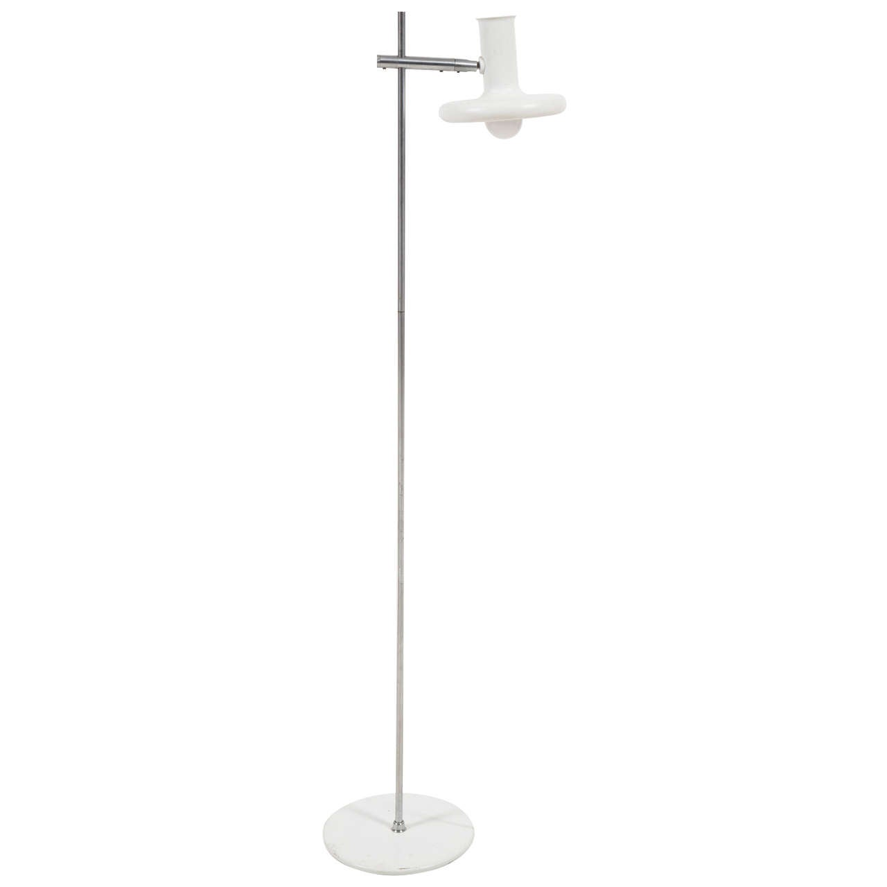 Mid Century Floor Lamp by Hans Due for Fog and Mørup For Sale