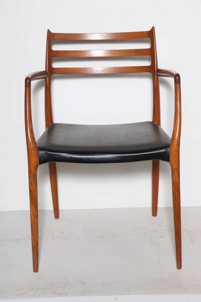 Niels Moller 78 Teak Dining Chairs Set Of Seven At 1stdibs