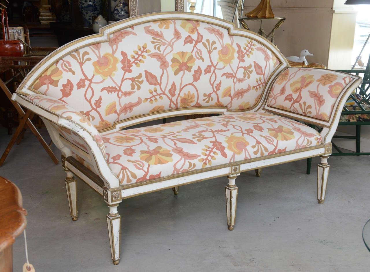 Rococo 18th Century Venetian Settee For Sale